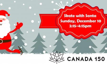 Canada 150 Skate with Santa Skating Party